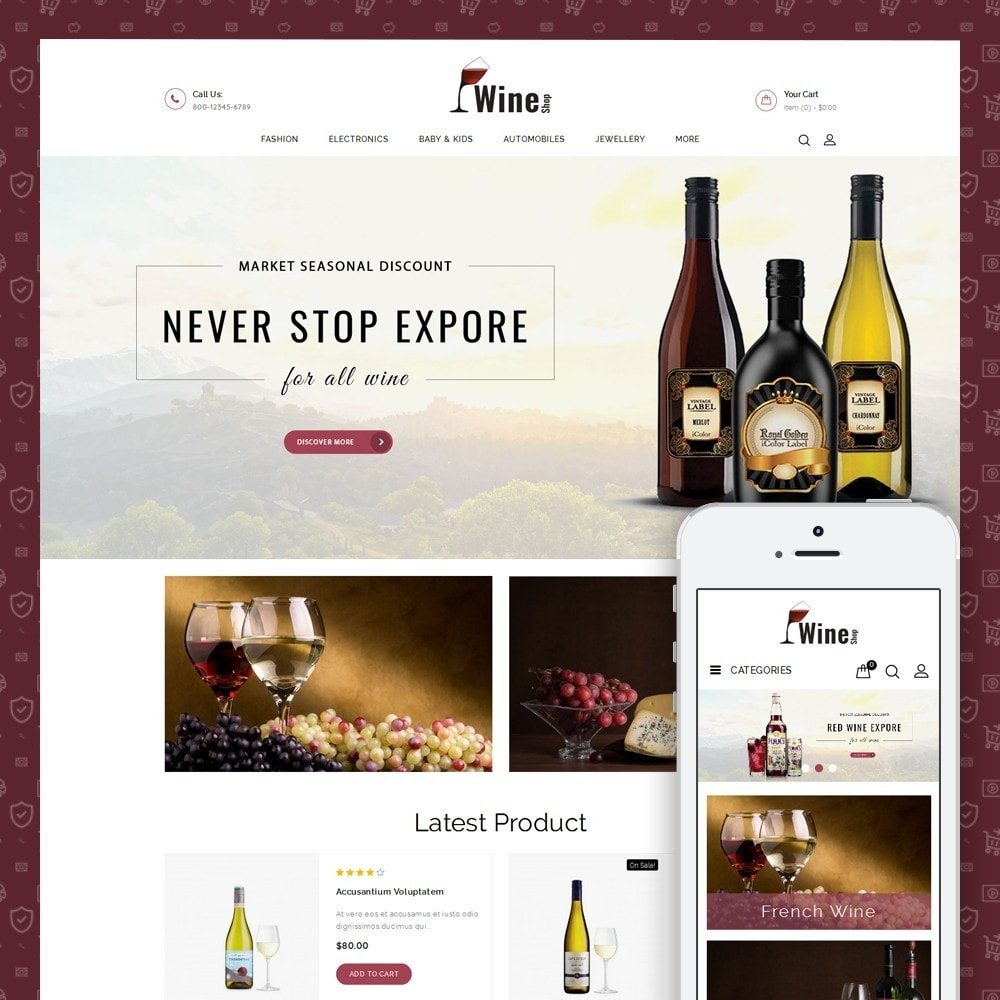 theme - Drank & Tabak - Wine Shop - 1