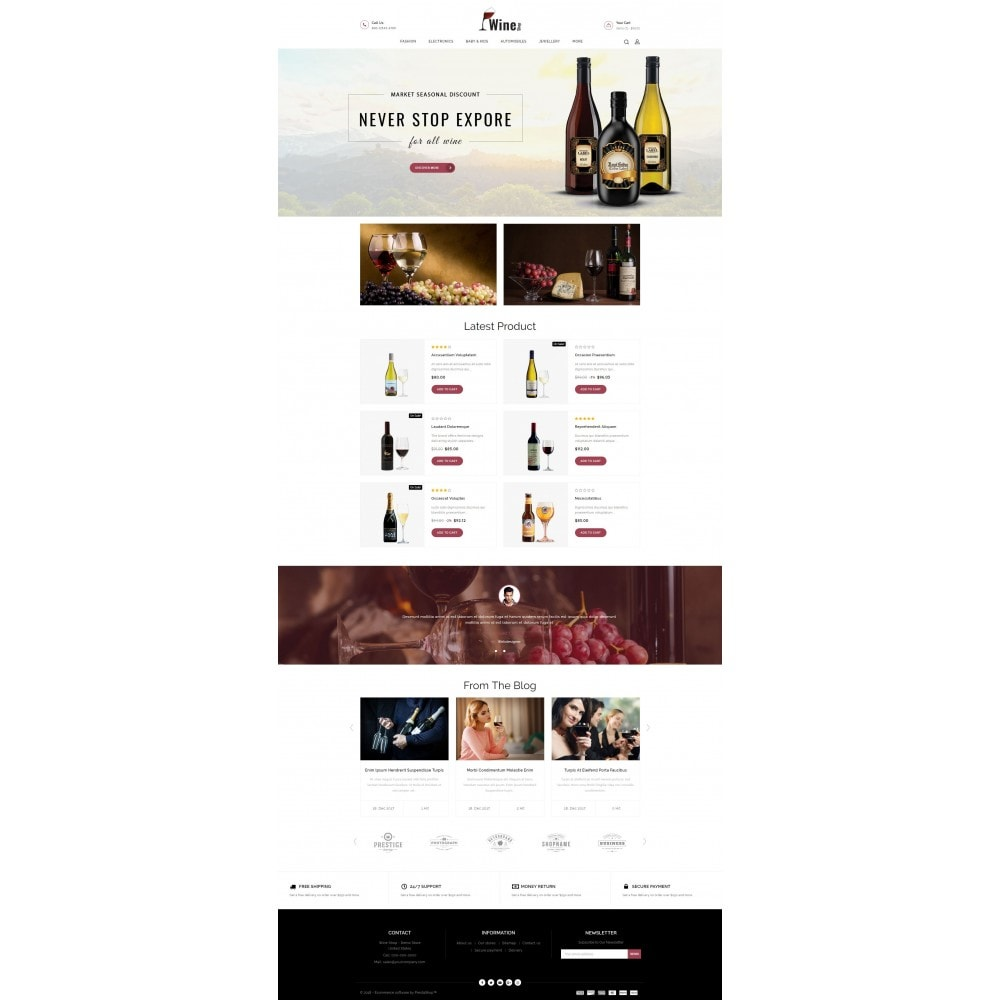 theme - Drank & Tabak - Wine Shop - 2