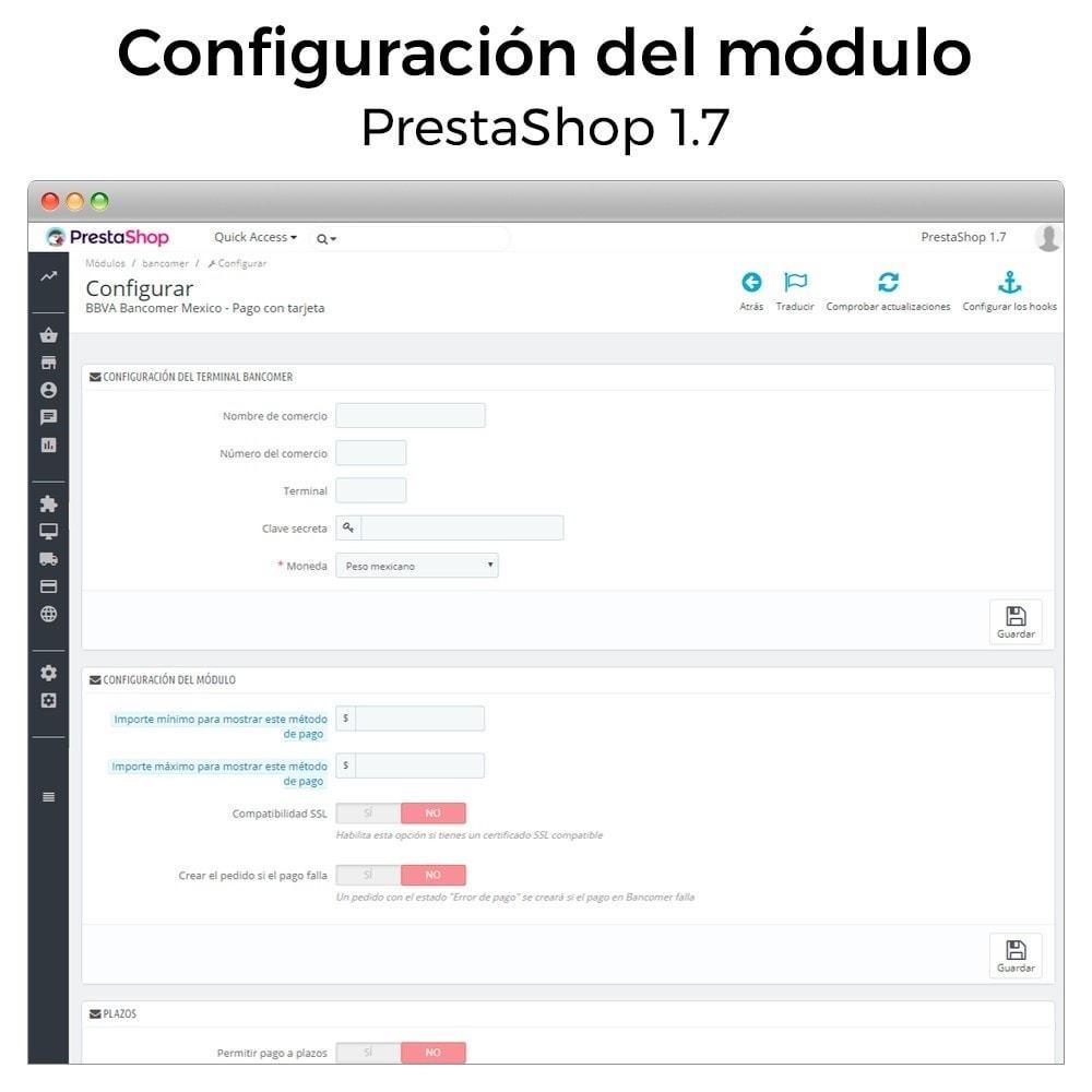 module - Pago con Tarjeta o Carteras digitales - BBVA Bancomer México - Pago con tarjeta online - 5