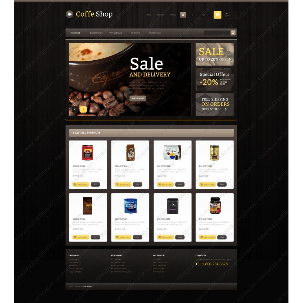 theme - Eten & Restaurant - Responsive Coffee Shop - 5
