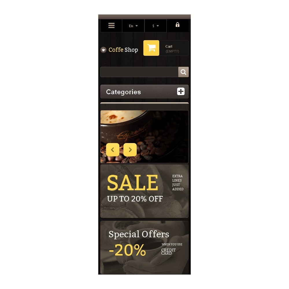 theme - Eten & Restaurant - Responsive Coffee Shop - 9