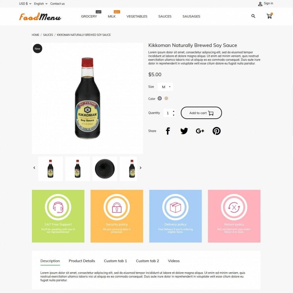 theme - Żywność & Restauracje - FoodMenu - 6