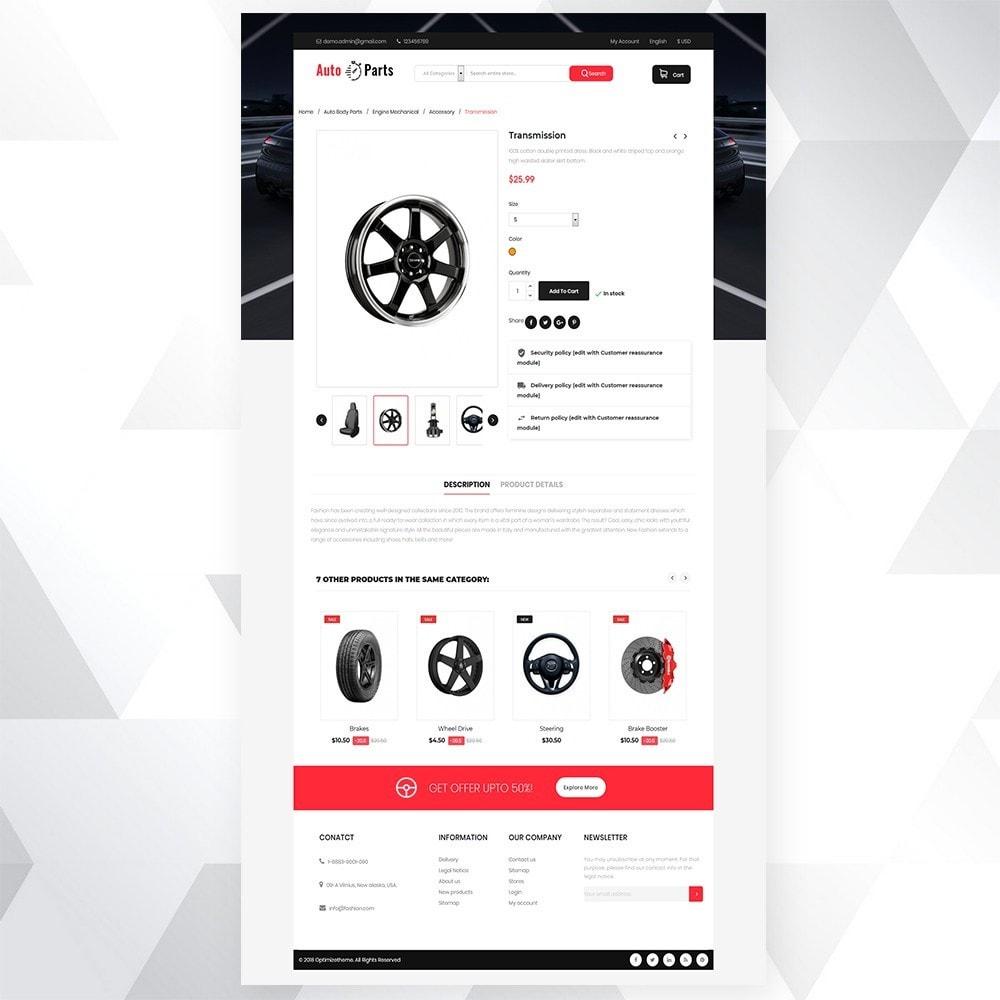 theme - Automotive & Cars - Auto part store - 5