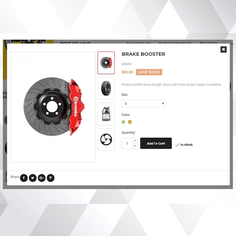 theme - Coches y Motos - Auto part store - 7