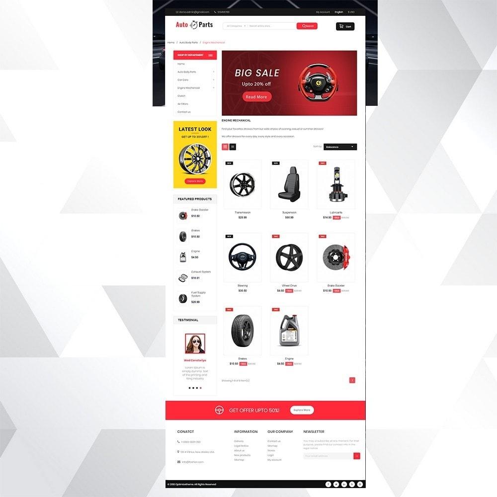 theme - Carros & Motos - Auto part store - 3