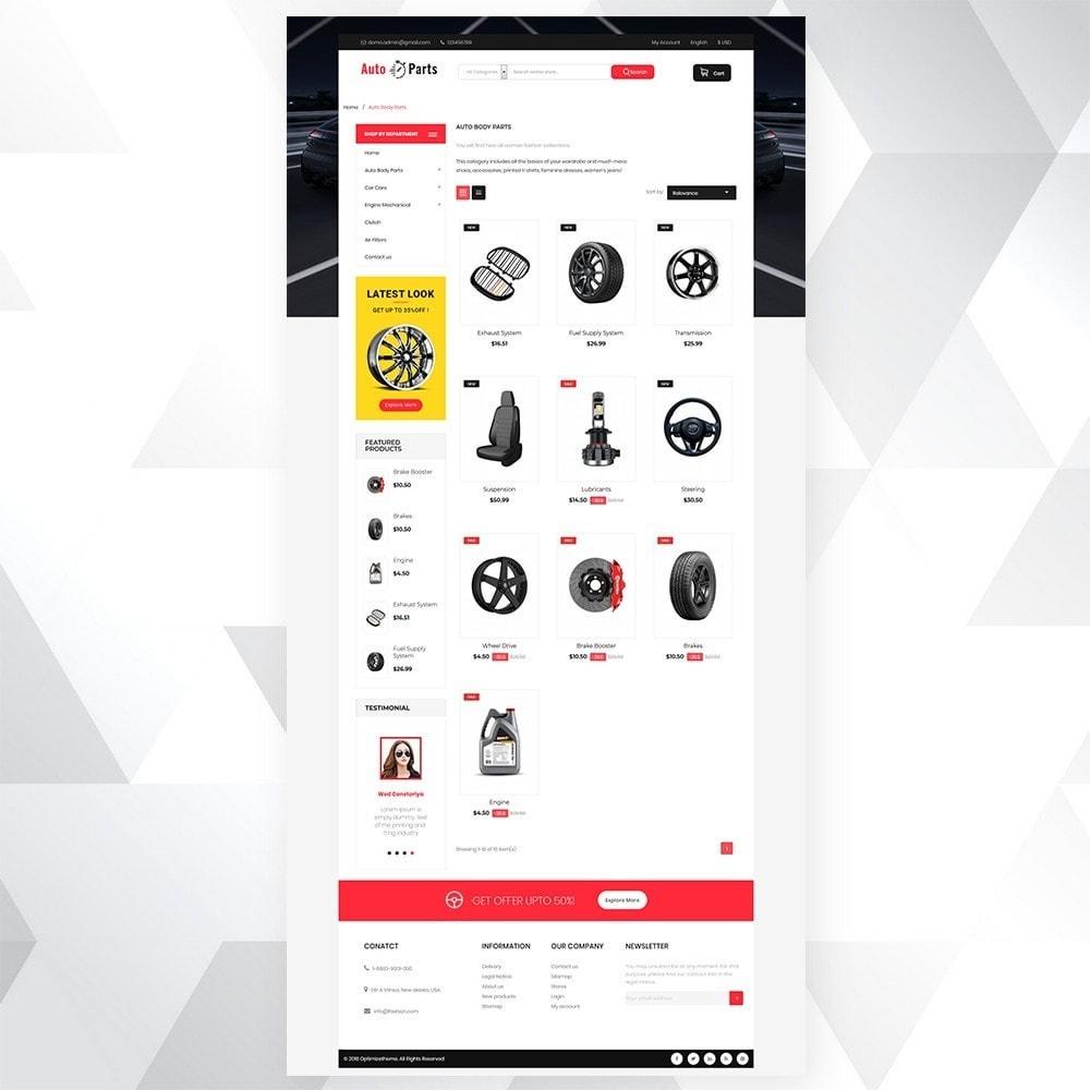 theme - Carros & Motos - Auto part store - 5
