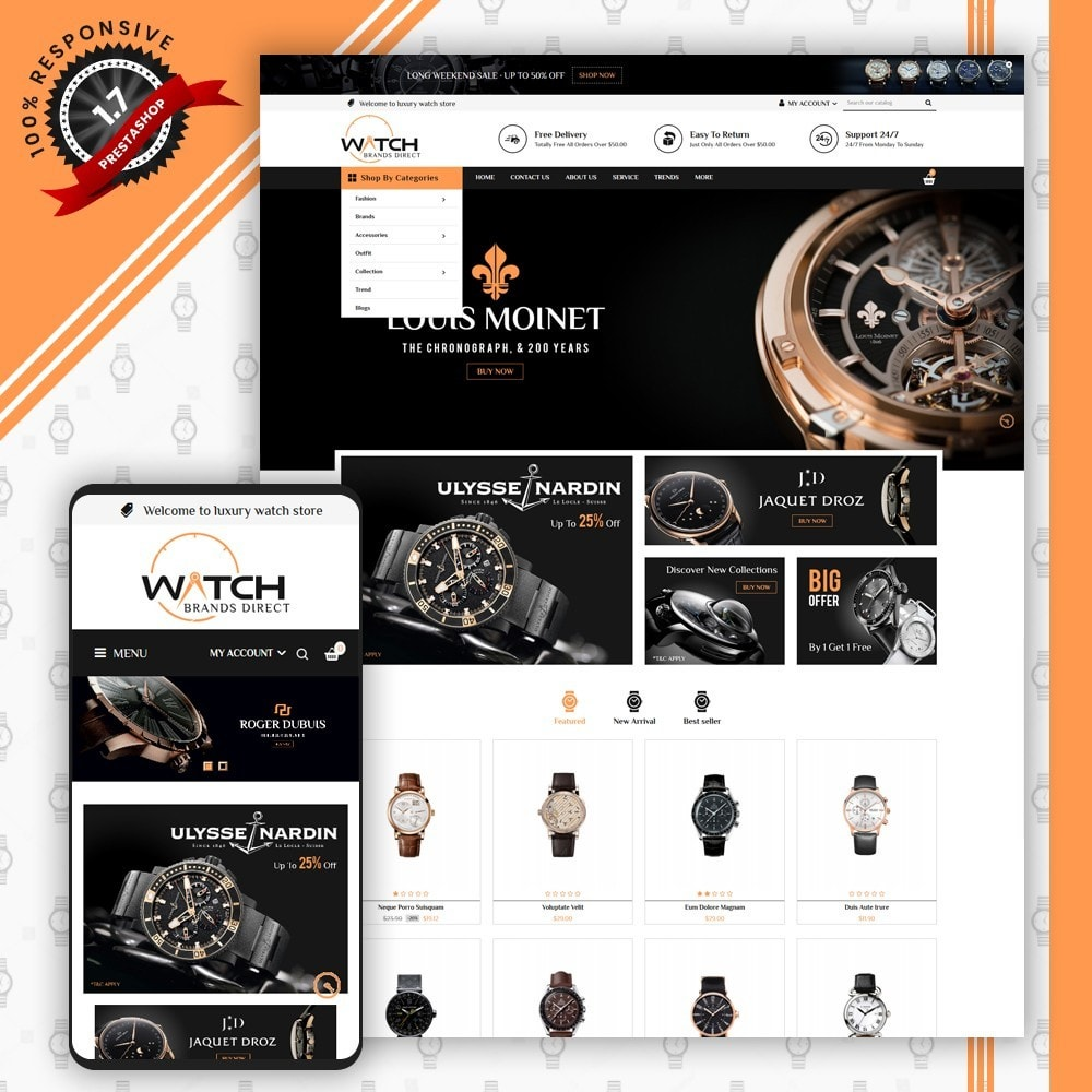 theme - Bellezza & Gioielli - Luxury Watch Store - 1