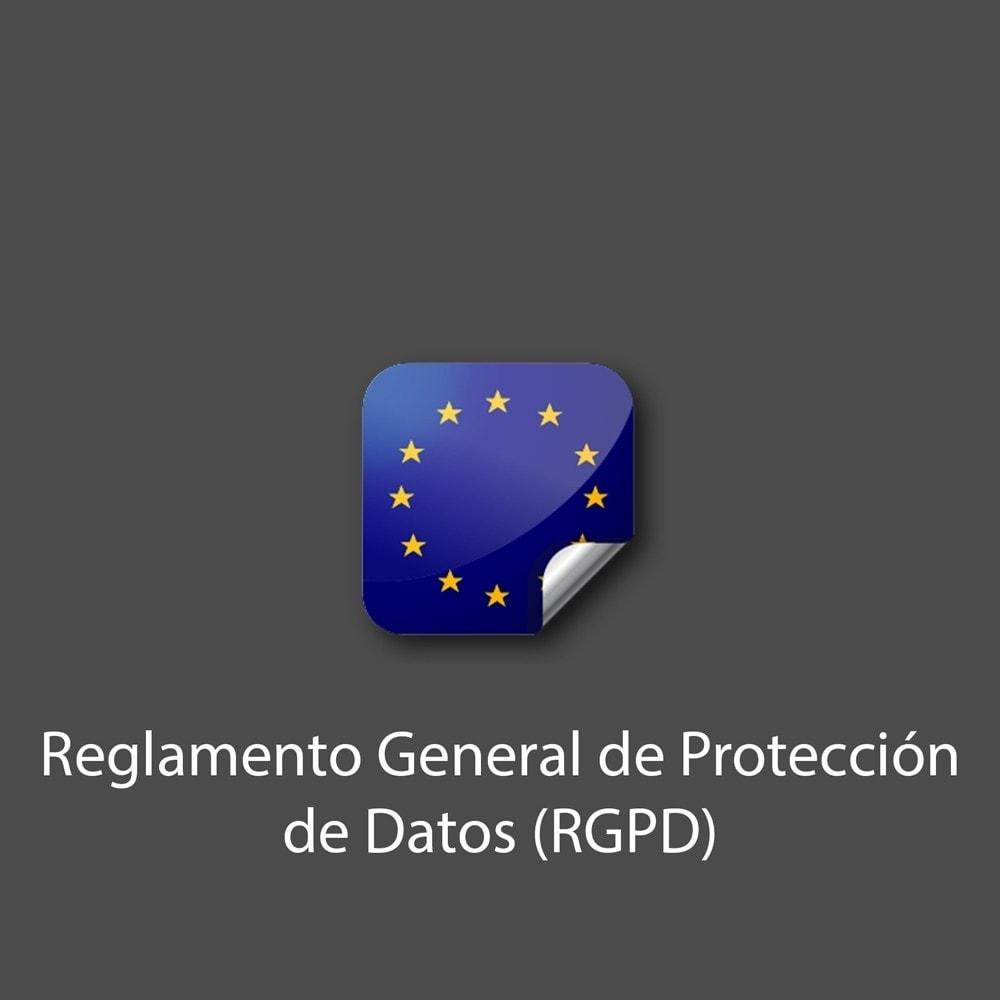 module - Marco Legal (Ley Europea) - Reglamento General de Protección de Datos (RGPD) - 1