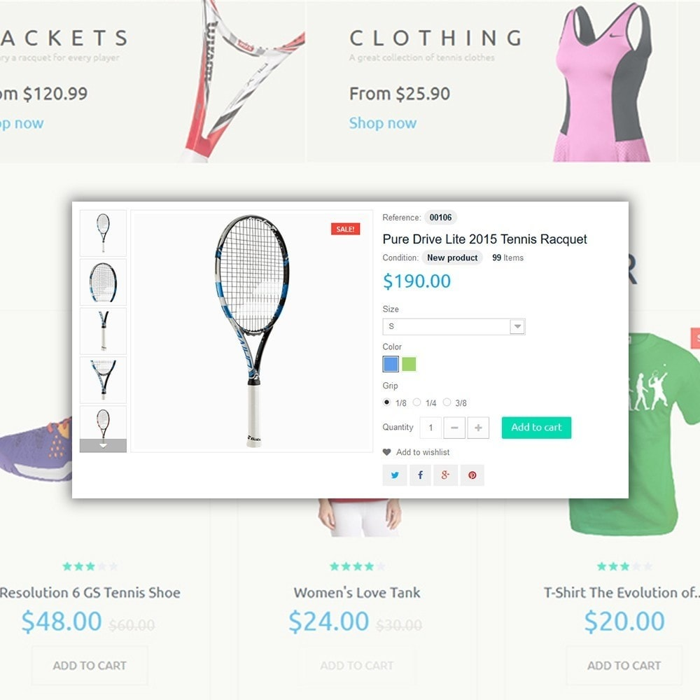 theme - Sports, Activities & Travel - Tennis Sport - 4