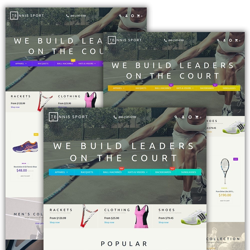 theme - Sport, Loisirs & Voyage - Tennis Sport - 2