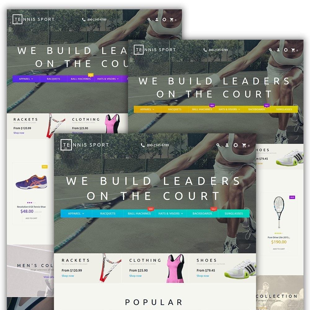 theme - Deportes, Actividades y Viajes - Tennis Sport - 2