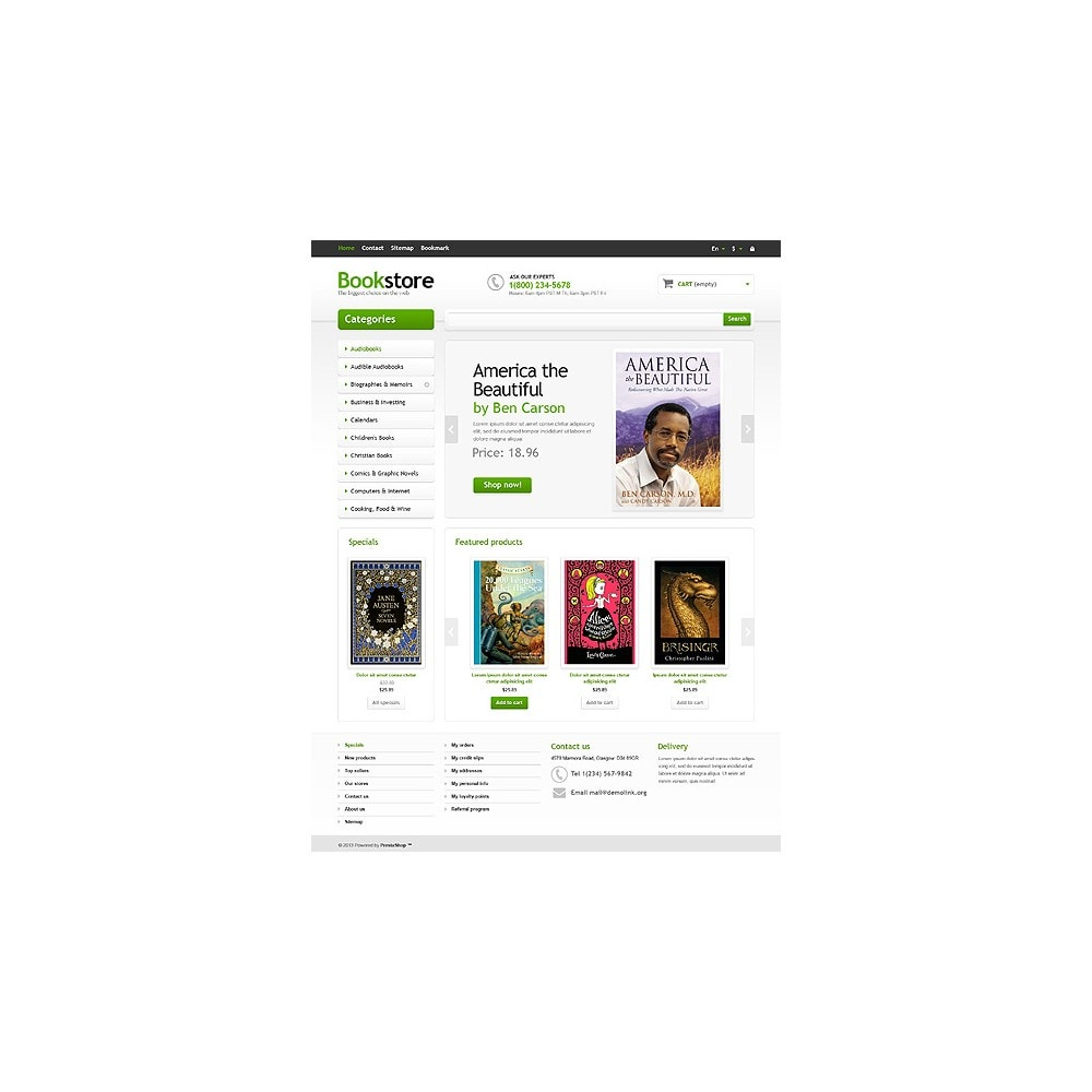 theme - Art & Culture - Responsive Books Store - 10
