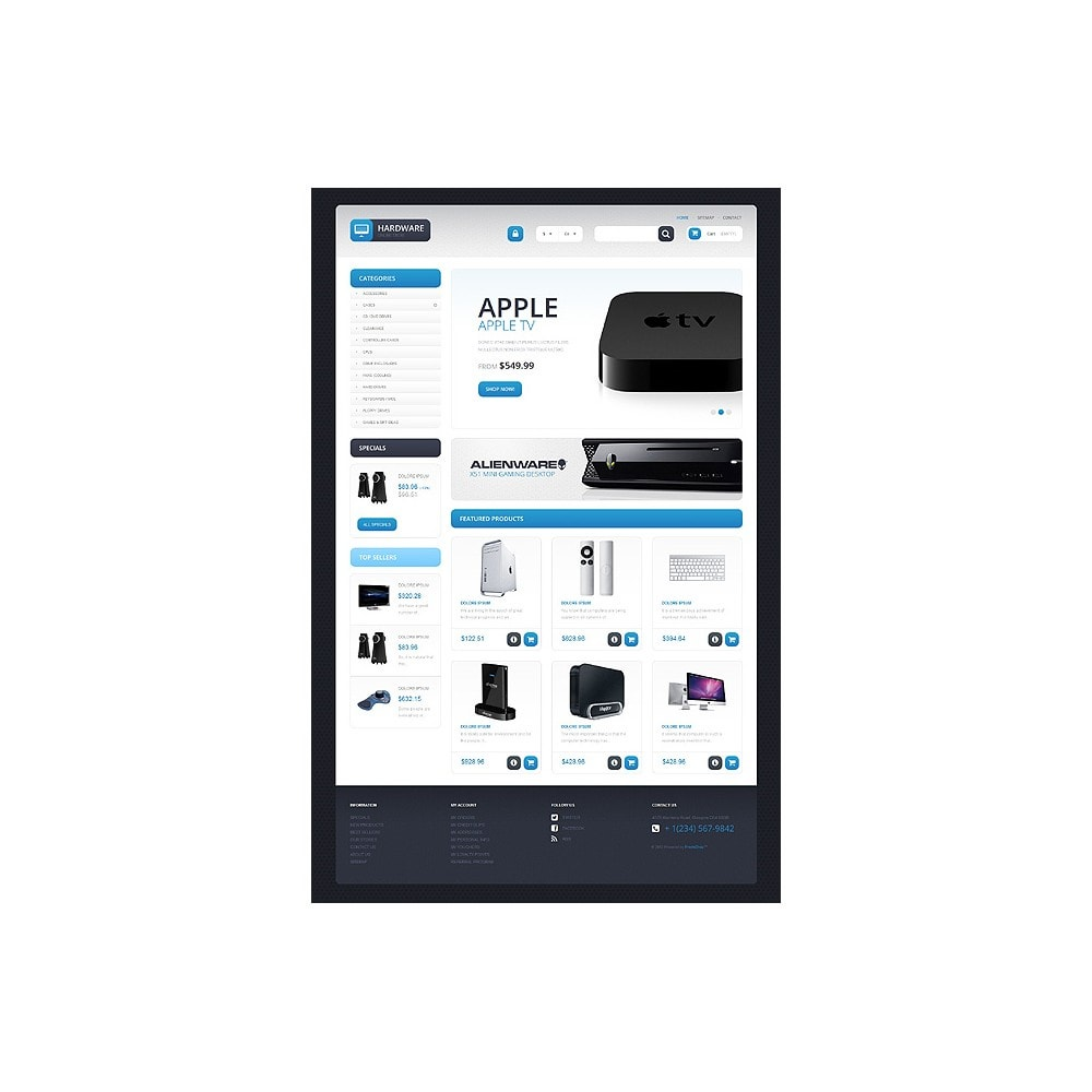 theme - Electrónica e High Tech - Responsive Hardware Store - 10