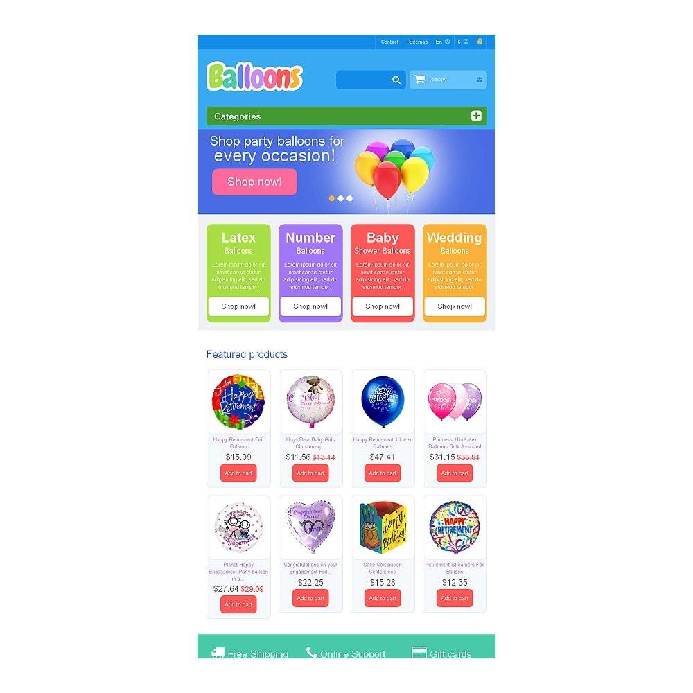 theme - Bambini & Giocattoli - Responsive Balloons Store - 7