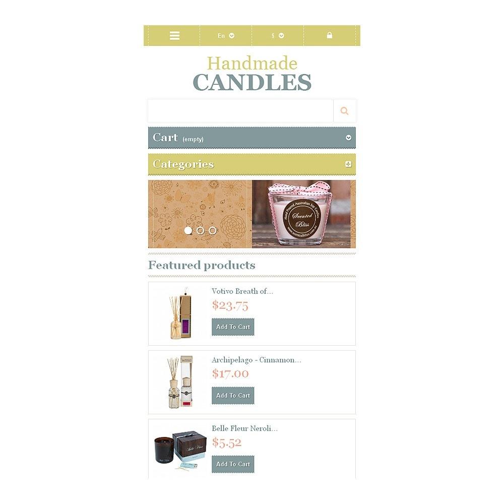 theme - Zabawki & Artykuły dziecięce - Handmade Candles - 8