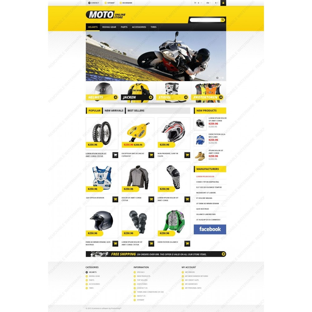theme - Auto & Moto - Magasin de motos - 3