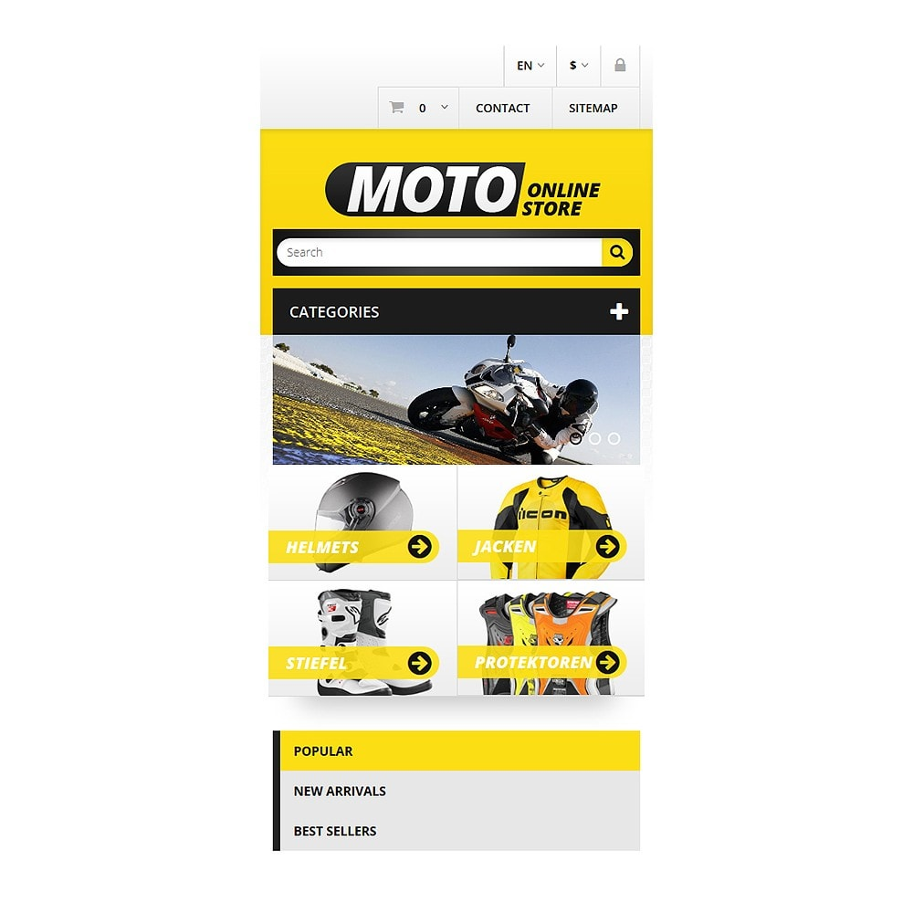 theme - Auto & Moto - Magasin de motos - 8
