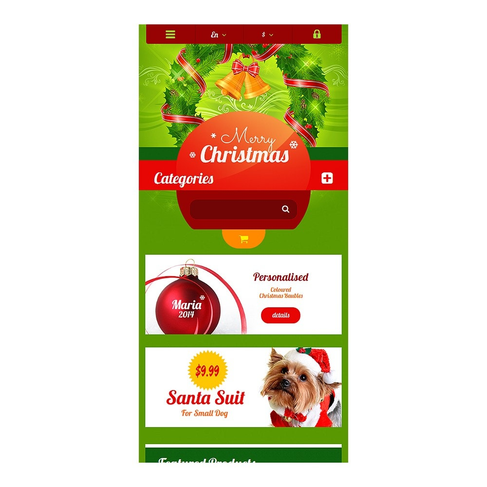 theme - Gifts, Flowers & Celebrations - Christmas Gift Shop - 8