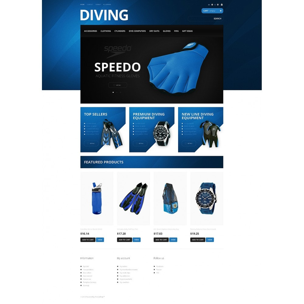 theme - Sports, Activities & Travel - Majestic Diving - 2