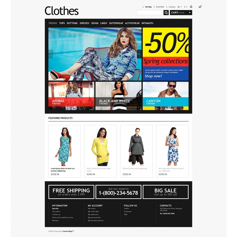 theme - Moda & Calzature - Clothes for Choosy Women - 2