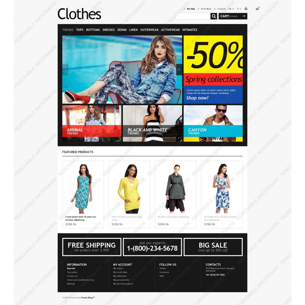 theme - Moda & Calzature - Clothes for Choosy Women - 3