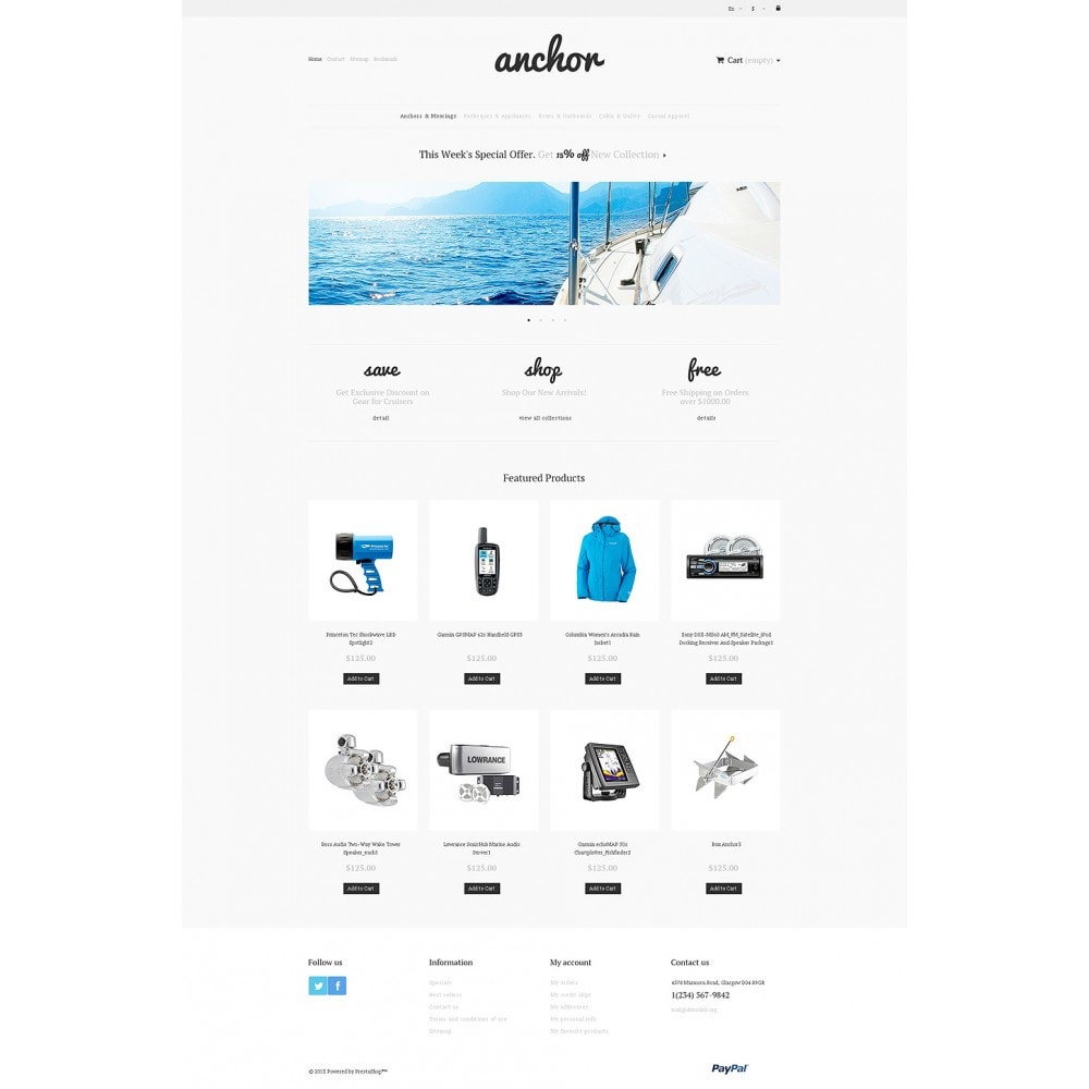 theme - Sports, Activities & Travel - Marine Store - 2