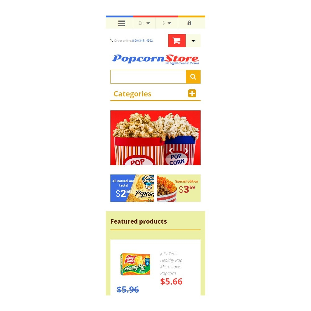 theme - Eten & Restaurant - Salt  Sweet Popcorn - 9