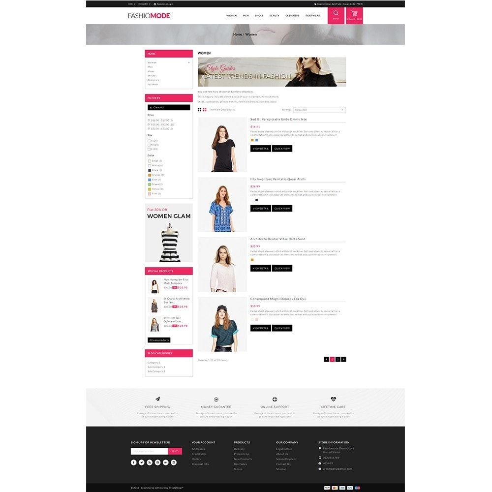 theme - Mode & Chaussures - Fashionmode Store - 4