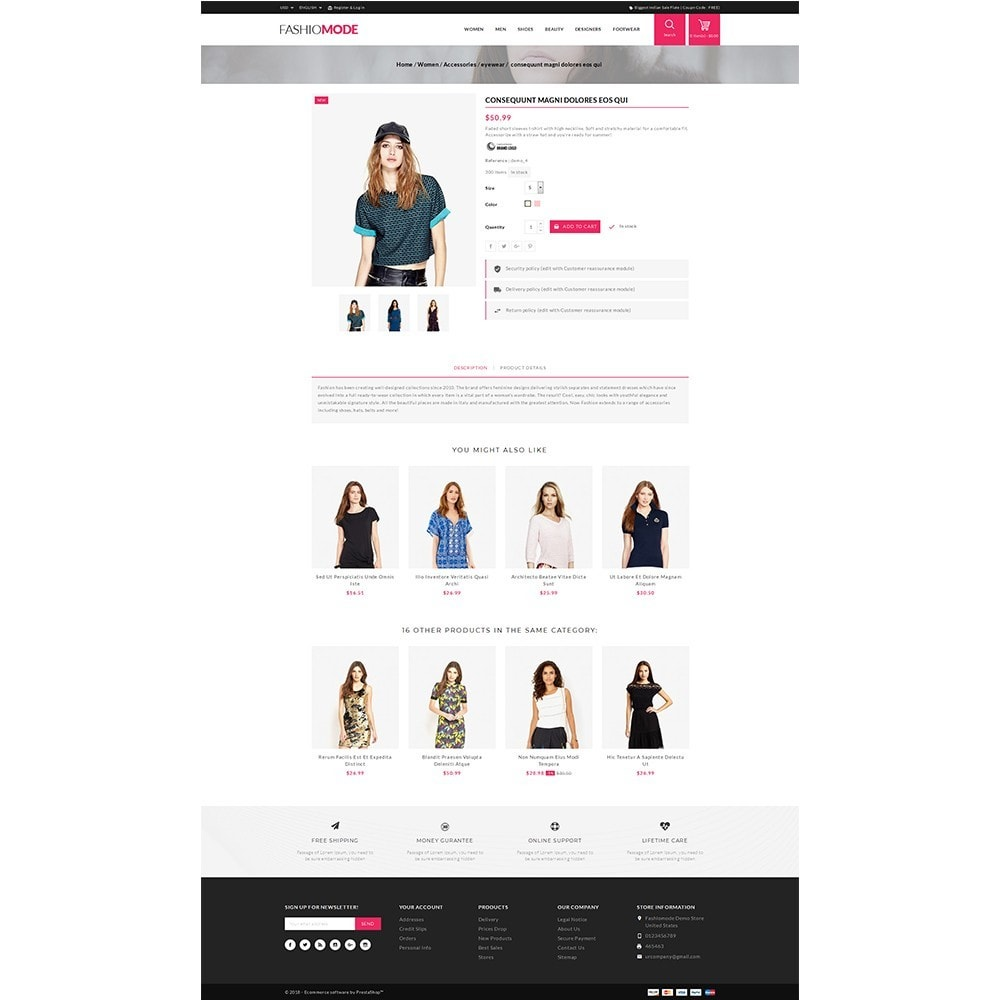 theme - Mode & Chaussures - Fashionmode Store - 5