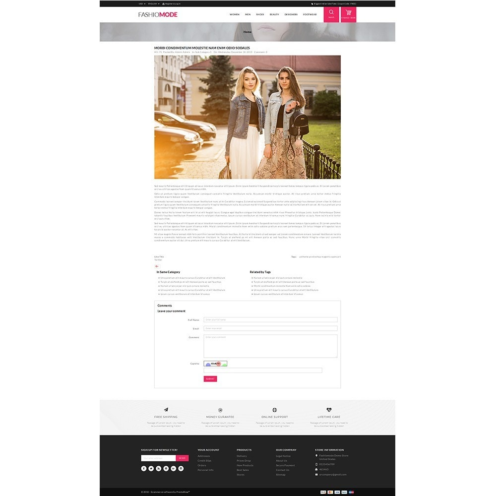 theme - Мода и обувь - Fashionmode Store - 6