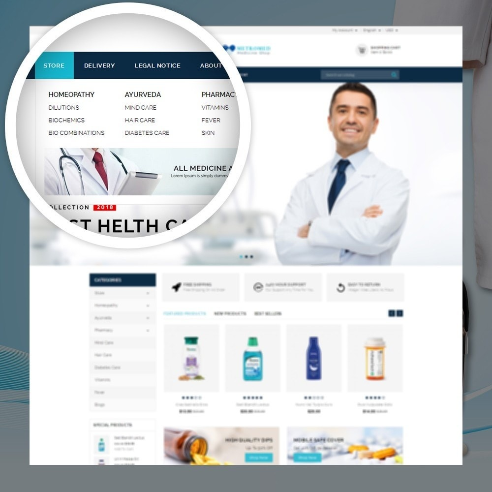 theme - Salud y Belleza - Metromed - The Medicine Shop - 7