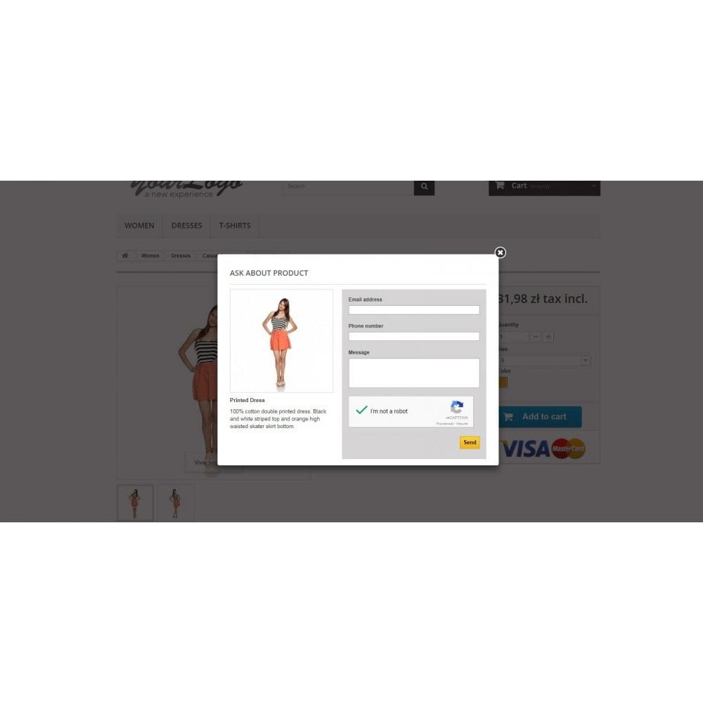 module - Kontaktformular & Umfragen - Ask about product - contact form - 1