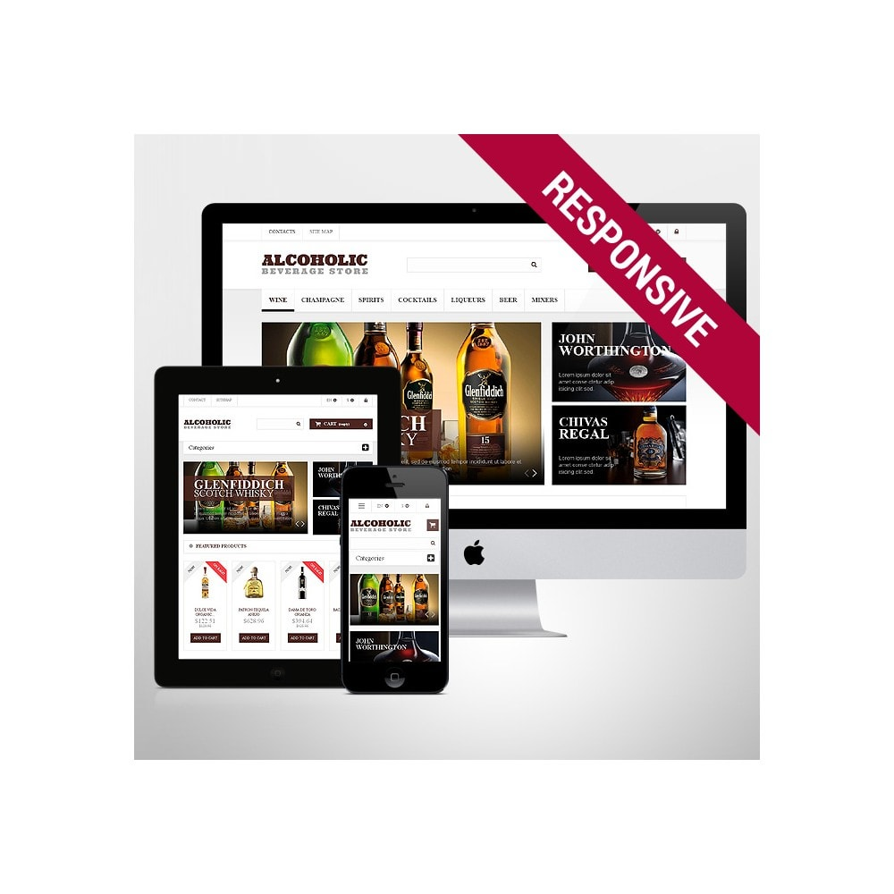 theme - Lebensmittel & Restaurants - Alcoholic Beverages Market - 1
