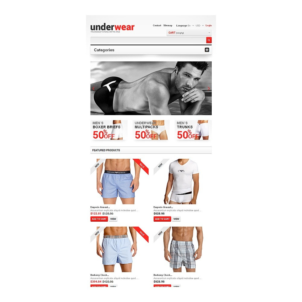theme - Moda & Obuwie - Men's Underwear - 7