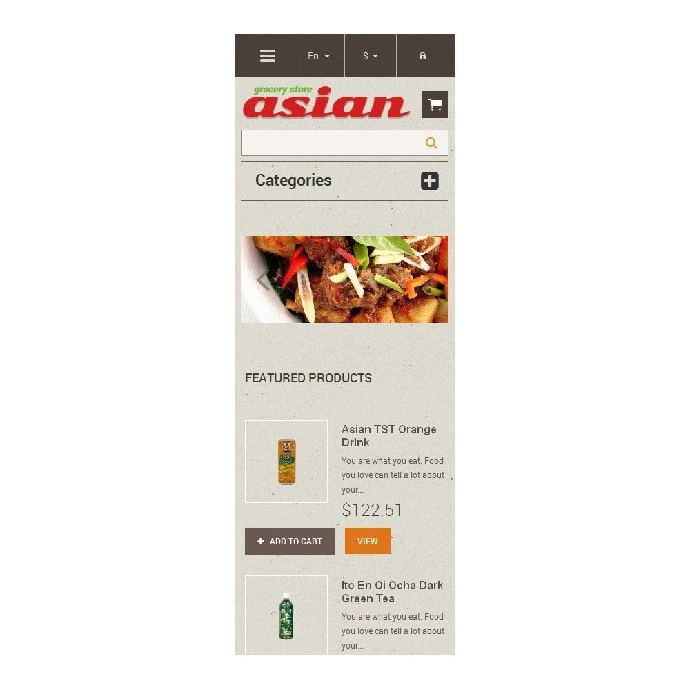 theme - Food & Restaurant - Asian Grocery - 9
