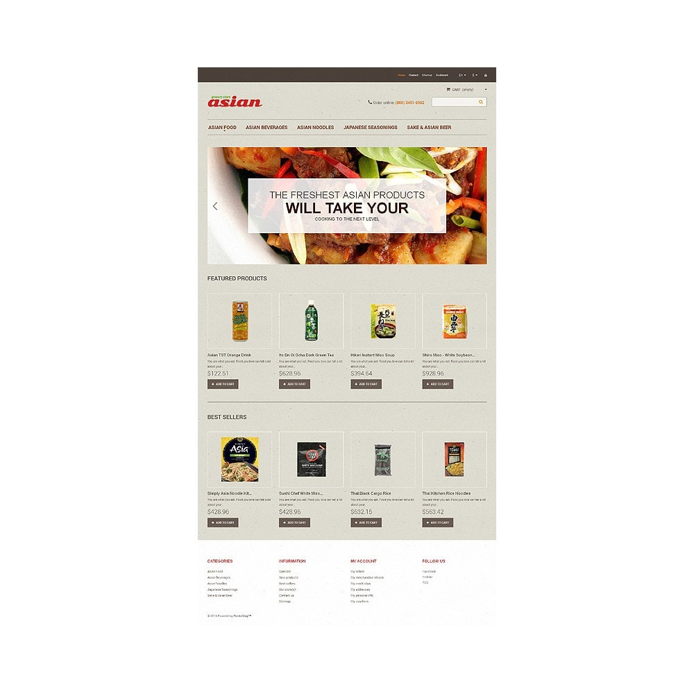 theme - Food & Restaurant - Asian Grocery - 10