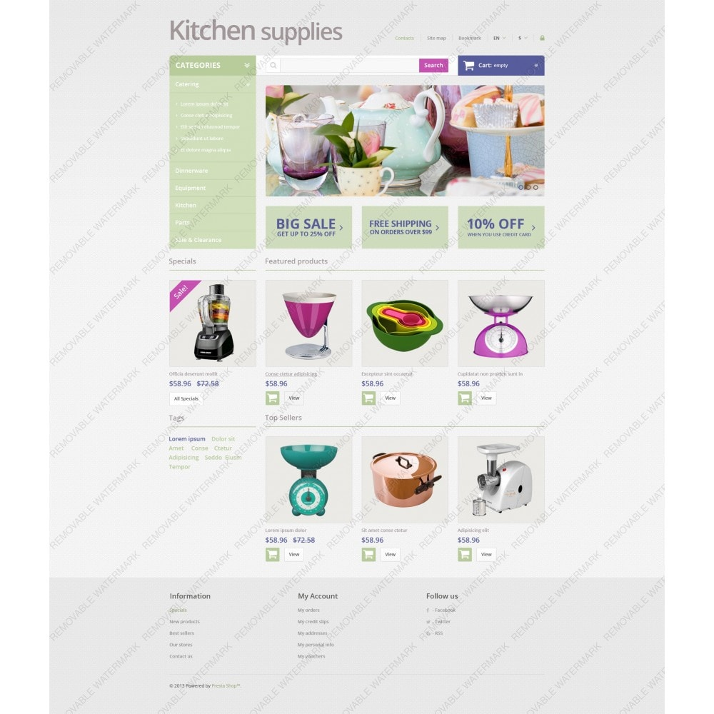 theme - Art & Culture - Online Grocery Store - 5