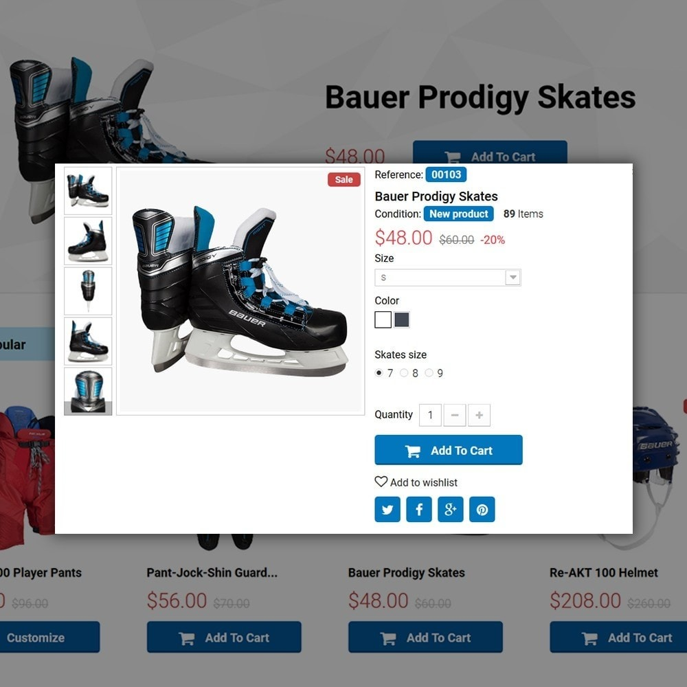theme - Sport, Activiteiten & Reizen - Hockey Shop - 4