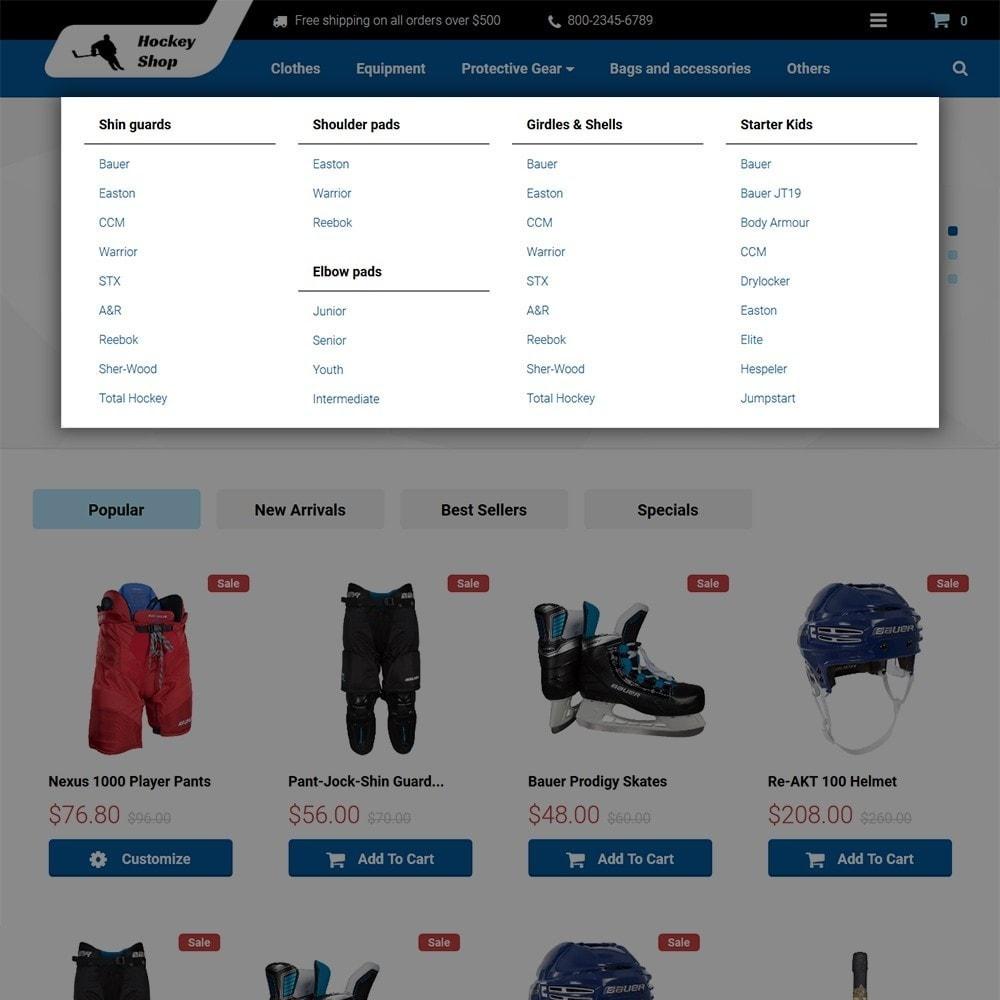 theme - Спорт и Путешествия - Hockey Shop - 3