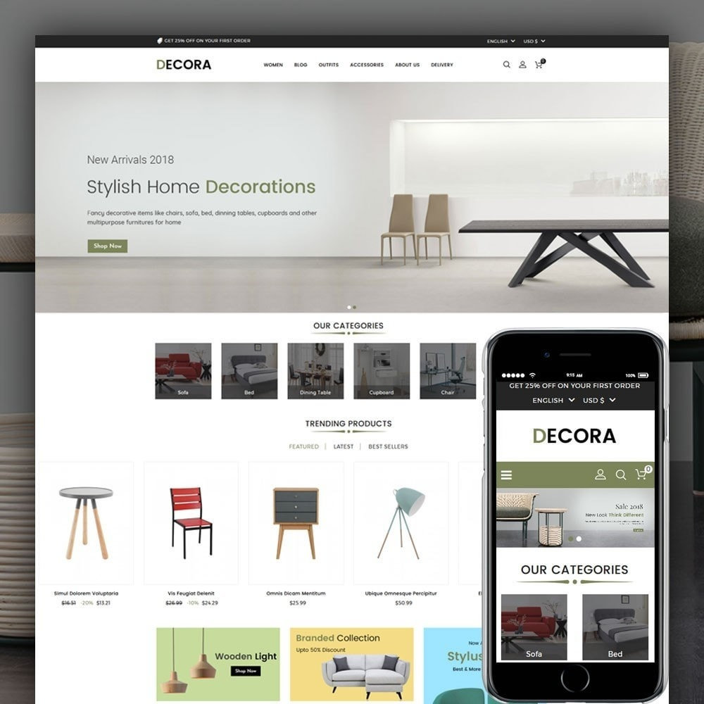 theme - Maison & Jardin - Decora Furniture Store - 1