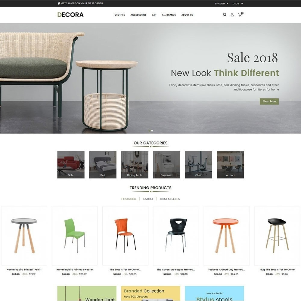 theme - Maison & Jardin - Decora Furniture Store - 2