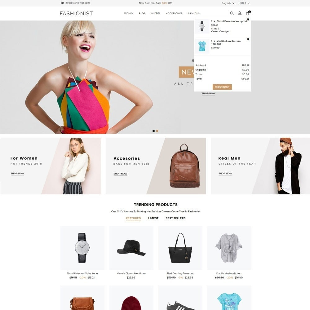 theme - Mode & Schuhe - Fashionist Fashion Store - 3