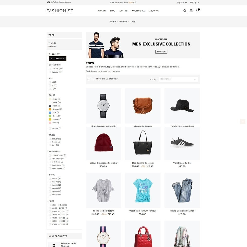 theme - Mode & Schuhe - Fashionist Fashion Store - 4
