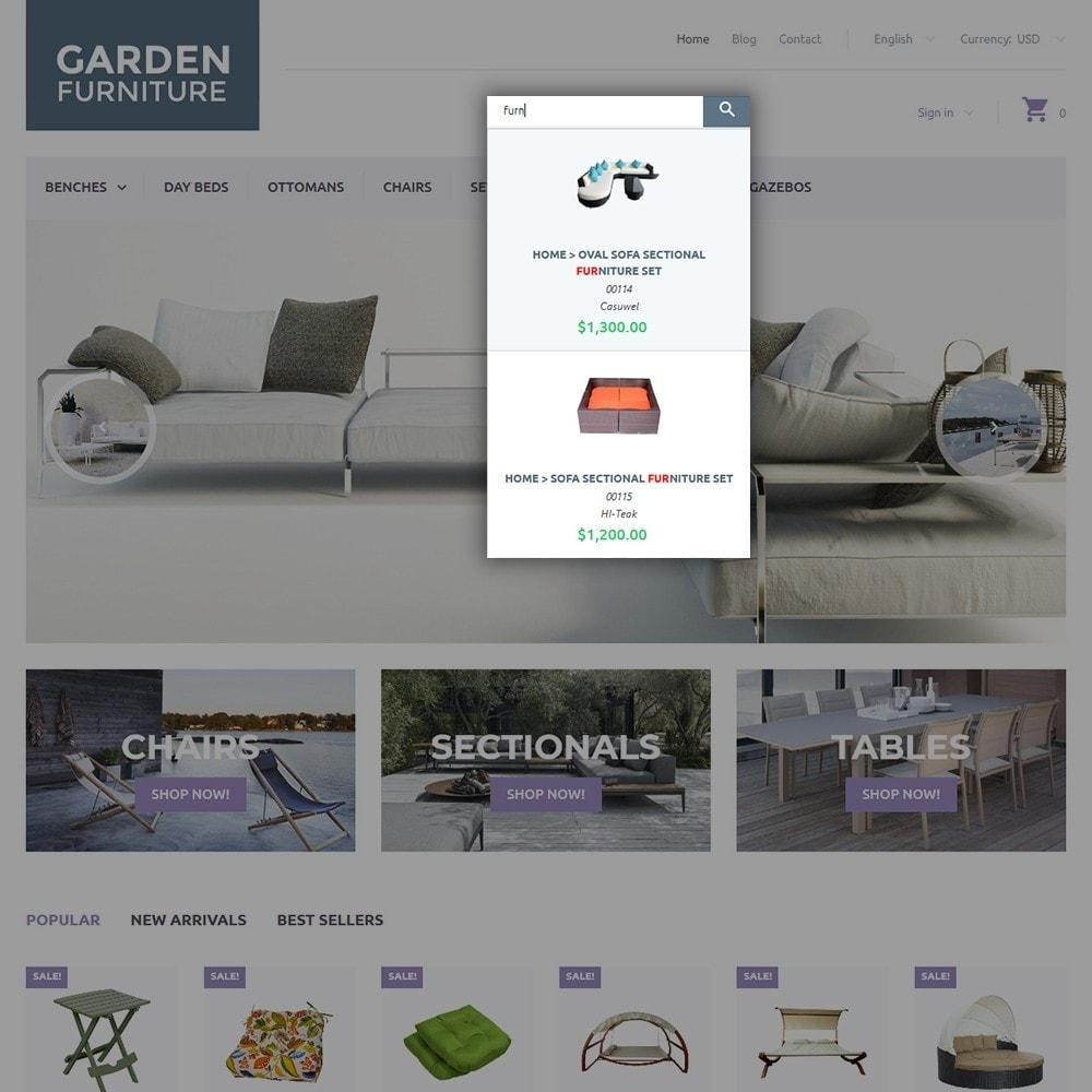 theme - Art & Culture - Garden Furniture - 6