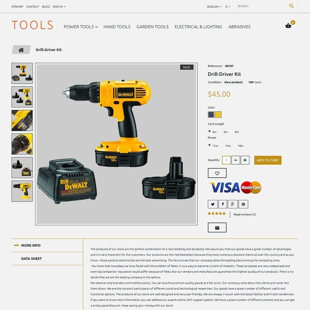 theme - Casa & Jardins - Tools - Tools & Equipment - 3