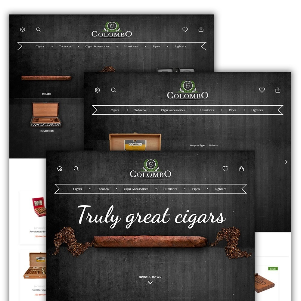 theme - Home & Garden - Colombo - Tobacco & Sigars Store - 2