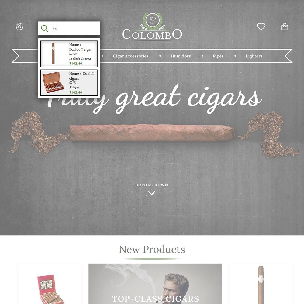 theme - Casa & Giardino - Colombo - Tobacco & Sigars Store - 6