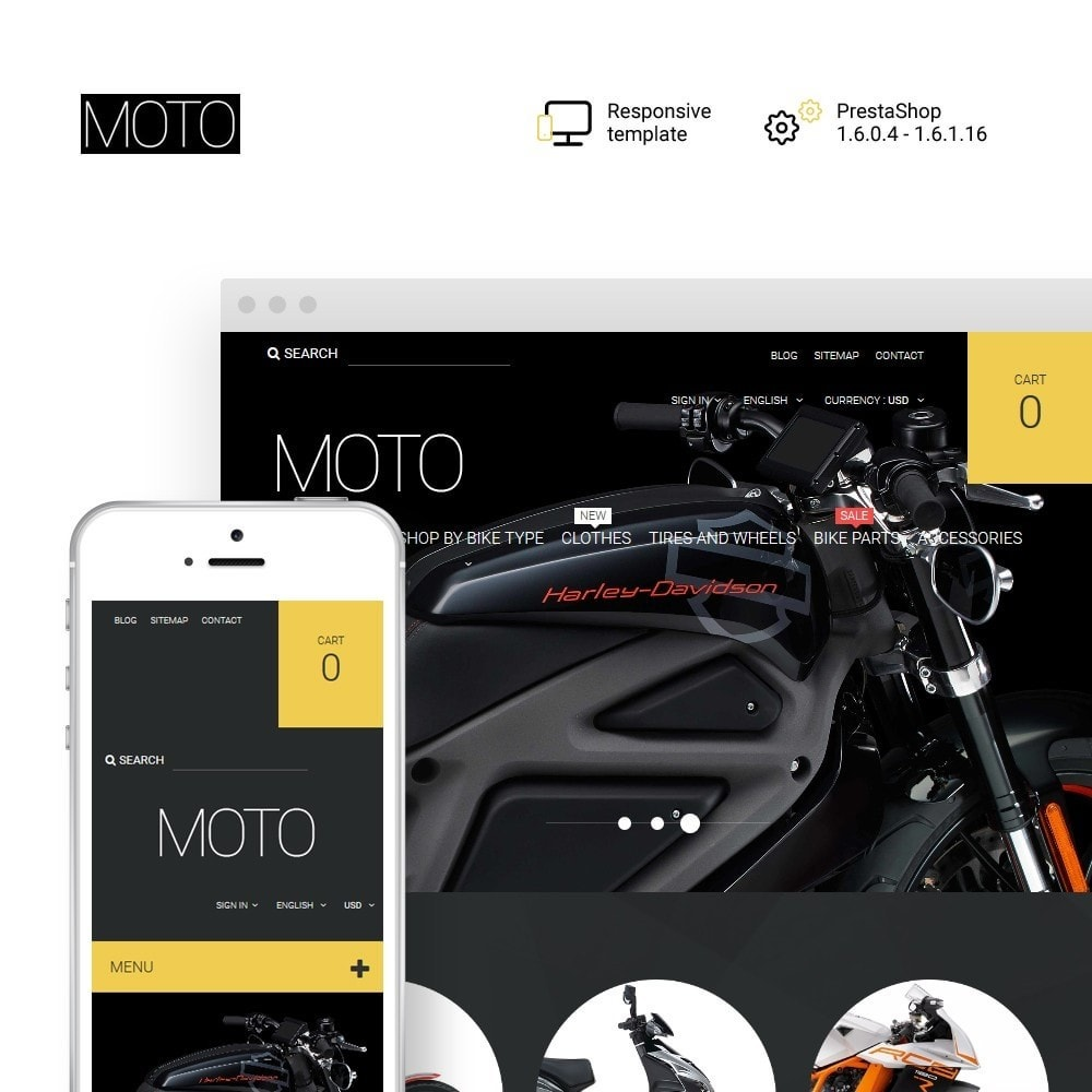 theme - Automotive & Cars - Moto - Bike Shop - 1