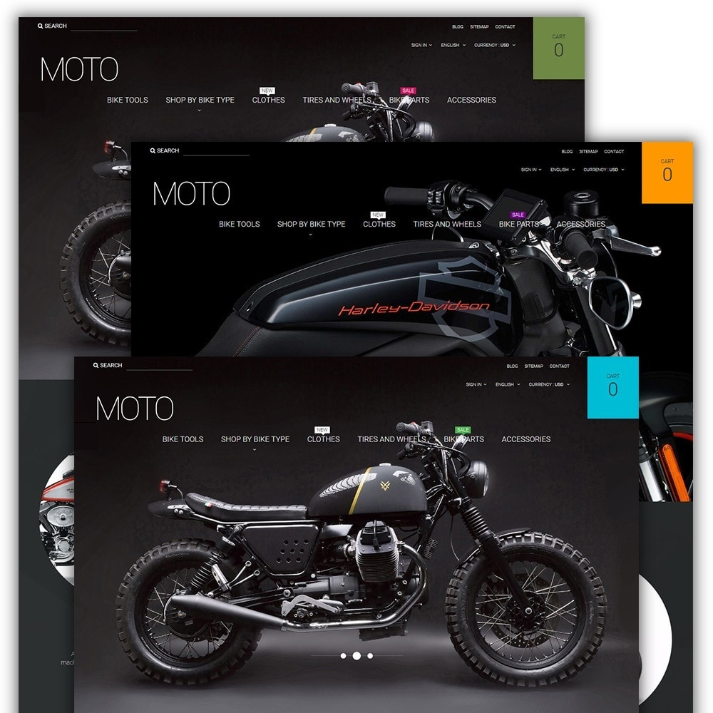 theme - Automotive & Cars - Moto - Bike Shop - 2