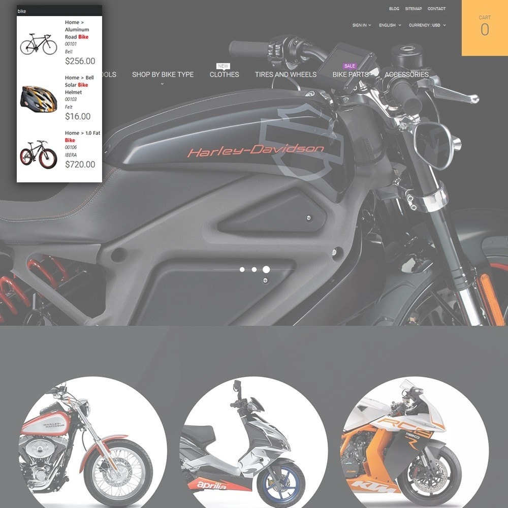 theme - Automotive & Cars - Moto - Bike Shop - 6